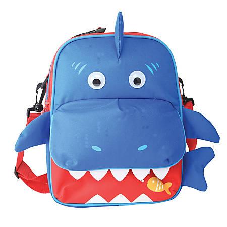 Keeplit Insulated Lunch Bag, Assorted Shark/Dino Design, Blue