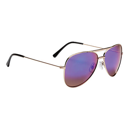 SOL Classic Aviator Sunglasses, Assorted Colors