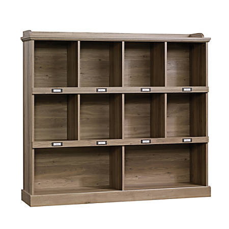 Sauder® Barrister Lane Cubby Bookcase, Salt Oak