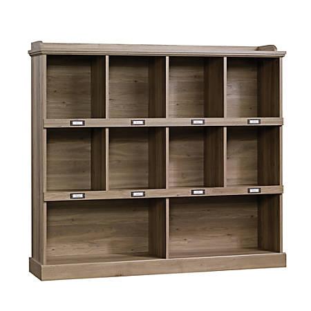 Sauder® Barrister Lane Cubby Bookcase, Salt Oak