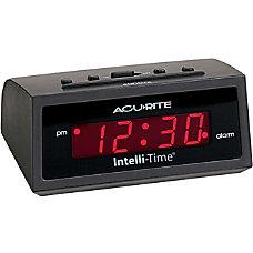 AcuRite 5 inch Intelli Time Alarm