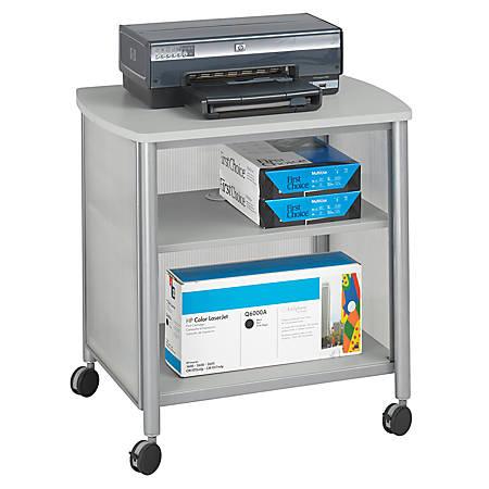 "Safco® Impromptu Machine Stand, 26 1/2""H x 26 1/4""W x 21""D, Gray"