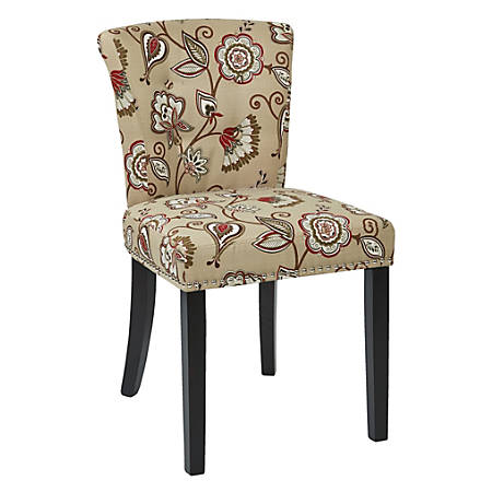 Ave Six Kendal Chair, Avignon Bisque/Light Brown/Gold