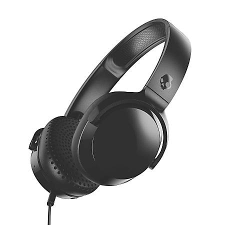 Skullcandy Riff On-Ear Headphones, Black, S5PXY-L003