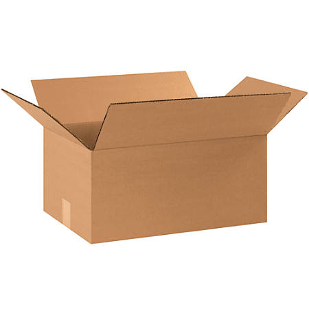 """Office Depot® Brand Corrugated Boxes, 8""""H x 11""""W x 17""""D, 15% Recycled, Kraft, Bundle Of 25"""