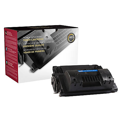 Clover Technologies Group 200818P Remanufactured High-Yield Toner Cartridge Replacement For HP 81X Black