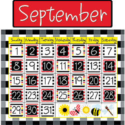 Barker Creek Calendar Set Buffalo Plaid