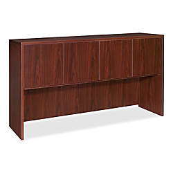 Lorell Essentials Series Hutch 72 W