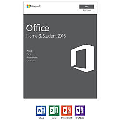 Microsoft Office Home Student 2016 for