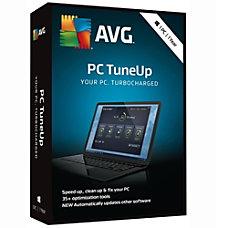 AVG PC TuneUp 2018 1 PC