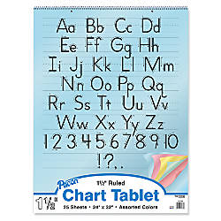 Pacon Color Paper Chart Tablet 1