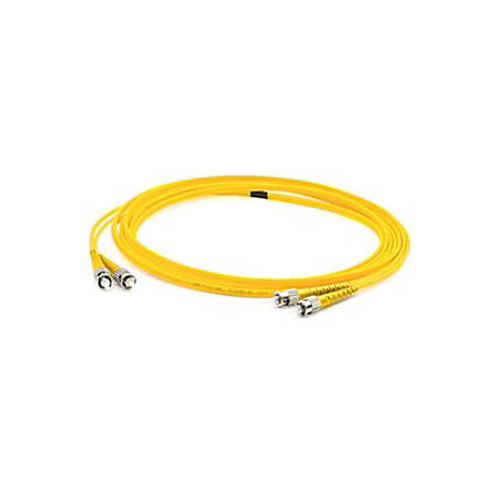 AddOn 3m FC (Male) to FC (Male) Yellow OS1 Duplex Fiber OFNR (Riser-Rated) Patch Cable