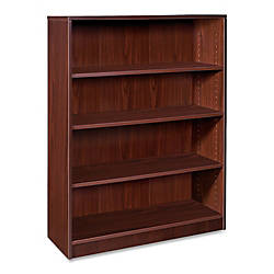 Lorell Laminate Bookcase 4 Shelf 48