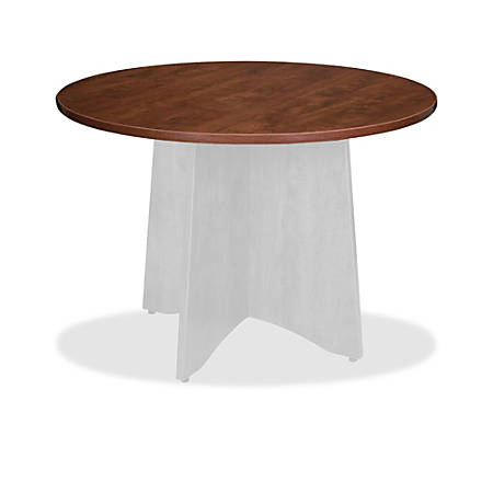 "Lorell® Essentials Round Table Top, 48""D, Cherry"