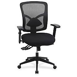 Lorell Management MeshFabric Chair Black
