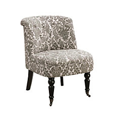 Monarch Specialties Traditional Slipper Accent Chair