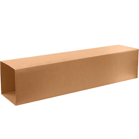 """Office Depot® Corrugated Telescoping Outer Boxes, 10-1/2"""" x 6-1/2"""" x 57"""", Kraft, Pack Of 15 Boxes"""