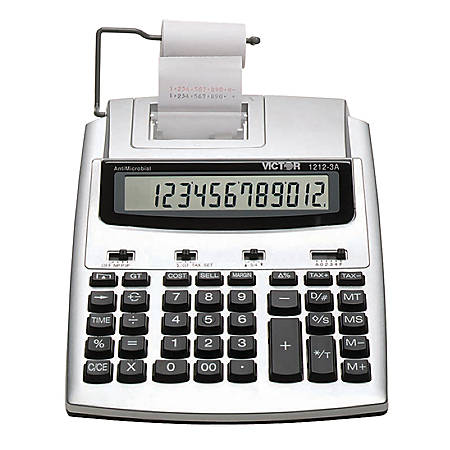Victor® 1212-3A 12-Digit Commercial Printing Calculator