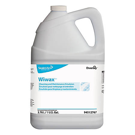 Diversey™ Wimax™ Cleaning And Maintenance Emulsion Liquid, 128 Oz, Pack Of 4 Bottles