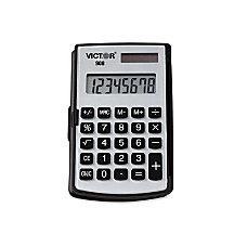 Victor 908 Handheld Calculator Big Display