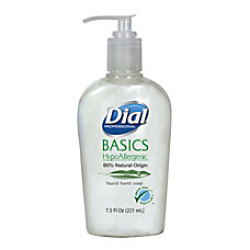 Dial Basics Liquid Hand Soap 75