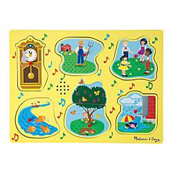 Melissa Doug Nursery Rhymes Sound Puzzle