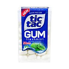 Tic Tac Sugar Free Freshmint Gum