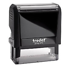 Harland Clarke Self Inking Message Stamp