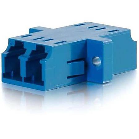 C2G LC/LC Duplex Single-mode Fiber Coupler