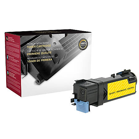 Clover Technologies Group™ Remanufactured High-Yield Toner Cartridge, Yellow, 200659 (Dell™ 8GK7X / 331-0715 and Dell 9X54J / 331-0718)