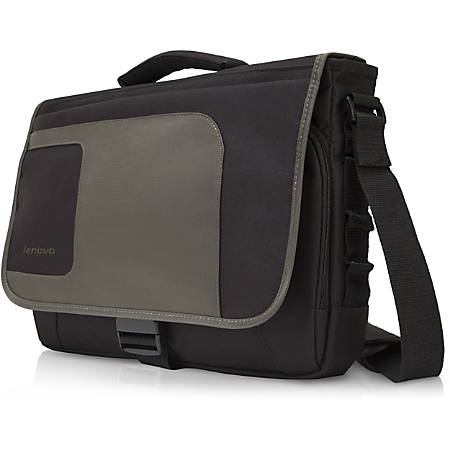 "Lenovo 41U5253 Messenger Max - Handle, Shoulder Strap - 12.9"" Height x 15.8"" Width x 4.5"" Depth"
