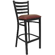 Flash Furniture Ladder Back Restaurant Bar