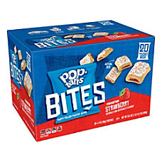 Pop Tarts Bites Frosted Strawberry 14