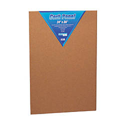 Flipside Cork Bulletin Board 24 x