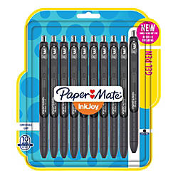 Paper Mate InkJoy Retractable Gel Pens