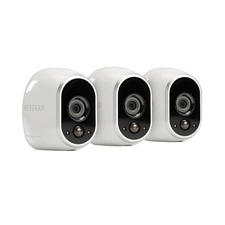Netgear Arlo Smart Home Wireless Security System With 3 Hd Cameras Vms3330 Item 571568
