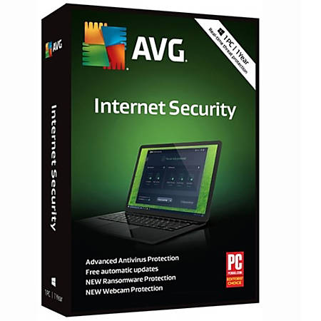 AVG Internet Security 2019, 1 PC 1 Year