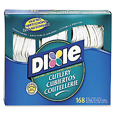 Dixie Heavy duty Plastic Cutlery 168