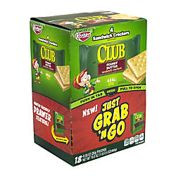 Keebler Club Peanut Butter Sandwich Cracker