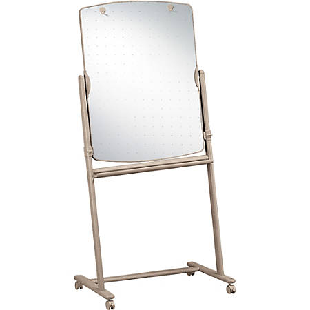 "Quartet® Large Reversible Total Erase™ Mobile Easel, Neutral Frame, 30"" x 41"""