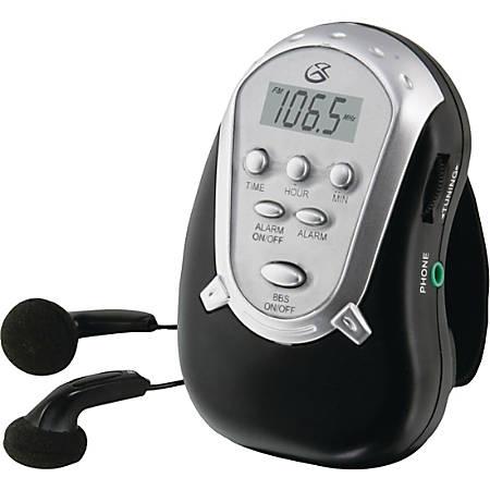 GPX Portable Clock Radio - Stereo