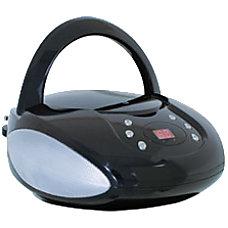GPX BC112B RadioCD Player BoomBox 1