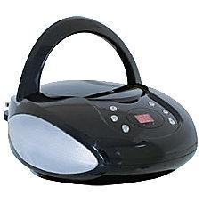 GPX BC112B RadioCD Player BoomBox