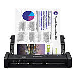 Epson® WorkForce® Portable Duplex Document Scanner With ADF, ES-200