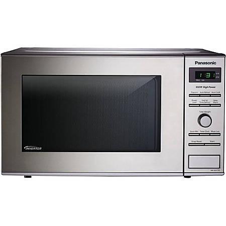 "Panasonic NN-SD372SR Microwave Oven - Single - 5.98 gal Capacity - Microwave - 10 Power Levels - 950 W Microwave Power - 11.22"" Turntable - 120 V AC - Countertop - Stainless Steel"