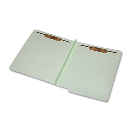 SKILCRAFT® 2-Part Design Classification Folders, Letter Size, 30% Recycled, Light Green, Box Of 25 (AbilityOne 7530-01-590-7105)