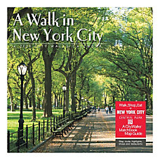 New York City is a walking