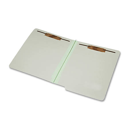 SKILCRAFT® 2-Part Design Classification Folders, Letter Size, 30% Recycled, Light Green, Box Of 25 (AbilityOne 7530-01-590-7108)