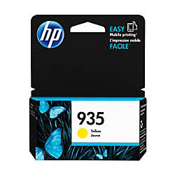 HP 935 Yellow Ink Cartridge C2P22AN140