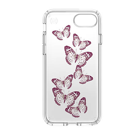 Speck® Presidio™ CLEAR Hard Case For Apple® iPhone® 7, Butterflies